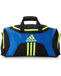 adidas - Black & Blue Scorer Medium Duffel - Lyst