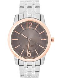 Nine West - Nw/2171 Two-tone Watch - Lyst