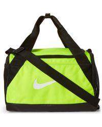 Nike - Neon Yellow & Black Brasilia Xs Duffel - Lyst