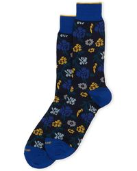 Duchamp - Floral Crew Socks - Lyst