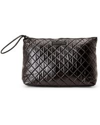 Macbeth Collection - Black Quilted Travel Pouch - Lyst