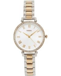 ed024b01836 Fossil Chelsey - Es3355 in Metallic - Lyst