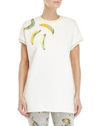 Giamba - Banana French Terry Pullover Tunic - Lyst