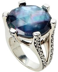 Stephen Dweck - Mother-of-pearl & Hematite Ring Size 8 - Lyst