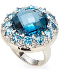 Anzie - Sterling Silver Accented Ring - Lyst