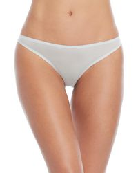 Stella McCartney - Ice Blue Smooth Lace Back Brief Panty - Lyst