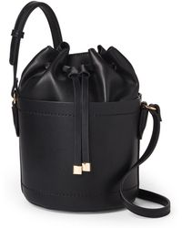 Moda Luxe - Black Victoria Bucket Bag - Lyst