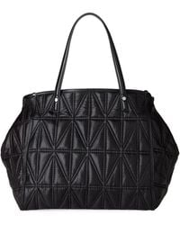 Juicy Couture | Black Quilted Convertible Tote | Lyst