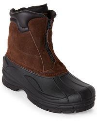 Khombu - Brown Paul Snow Boots - Lyst