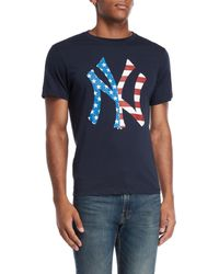 47 Brand - New York Yankees American Flag Tee - Lyst