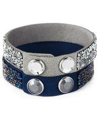 Swarovski - Two-piece Crystal Rock Bracelet Set - Lyst