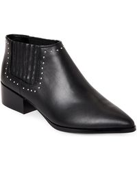 Marc Fisher - Idalee Studded Chelsea Booties - Lyst