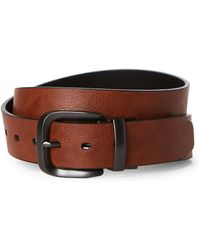 Levi's - Tan & Black Reversible Belt - Lyst