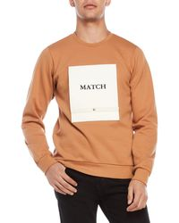 Drink Beer Save Water - Matchbook Appliqué Sweatshirt - Lyst