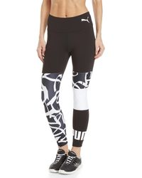 PUMA - Urban Sports Graphic Leggings - Lyst
