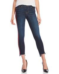 Flying Monkey - Red Tuxedo Stripe Jeans - Lyst