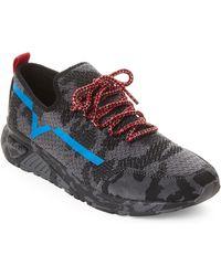 DIESEL - Grey S-kby Skb Knit Low-top Sneakers - Lyst