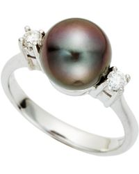 Tara Pearls - Tahitian Cultured Pearl Ring - Lyst