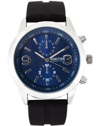 Kenneth Cole Reaction - Rk50073003 Silver-tone & Black Watch - Lyst