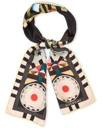 Givenchy - Egyptian Eye Silk Scarf - Lyst