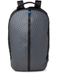 Emporio Armani - Black & Grey Logo Laptop Backpack - Lyst