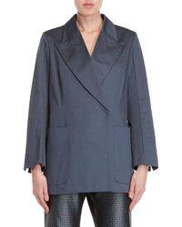 Ter Et Bantine - Blue Cotton Jacket - Lyst