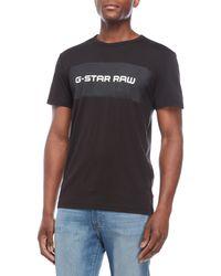 G-Star RAW - Belfurr Crew Tee - Lyst