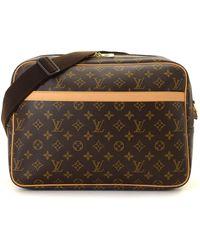 Louis Vuitton - Monogram Reporter Mm Crossbody Bag - Vintage - Lyst fe084a17e45ee