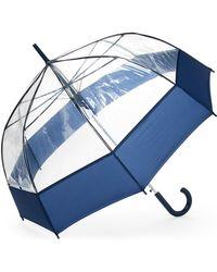 Shedrain - Clear Bubble Auto Stick Umbrella - Lyst