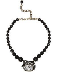 Heidi Daus - Wild Side Lounging On Gems Beaded Necklace - Lyst