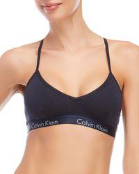 CALVIN KLEIN 205W39NYC - Motive T-back Bralette - Lyst