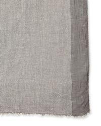 English Laundry - Grey Lightweight Scarf - Lyst