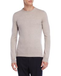 Jil Sander - Grey Cashmere Sweater - Lyst