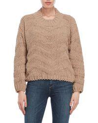 Pol - Chunky Crew Sweater - Lyst