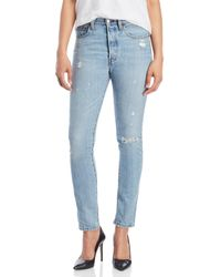 Levi's - Clear Mind 501 Skinny Jeans - Lyst