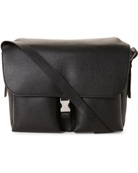 Mulberry - Black Leather Welbeck Messenger Bag - Lyst