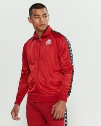 4223263ee1 Kappa Men's Authentic Batrack Track Jacket - Blue Red Silver in Blue ...
