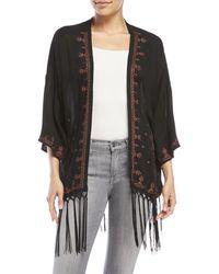 Blush Noir - Gypsy Star Kimono - Lyst