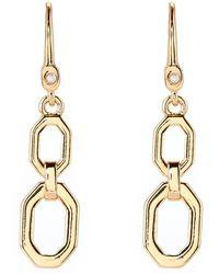 Ivanka Trump - Gold-tone Double Drop Earrings - Lyst