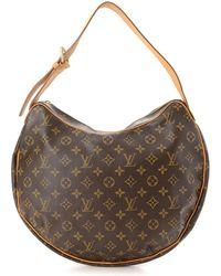 6862617e51f8 Louis Vuitton - Monogram Croissant Gm Shoulder Bag - Vintage - Lyst