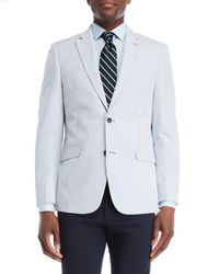Tommy Hilfiger - Striped Seersucker Stretch Sport Coat - Lyst