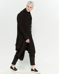 Army Of Me - Layered Hooded Coat - Lyst
