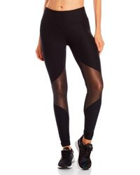 90 Degree By Reflex - Metallic Mesh Leggings - Lyst