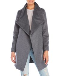 Lauren by Ralph Lauren - Wrap Coat - Lyst