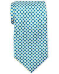 Battistoni - Connected Floral Pattern Tie - Lyst