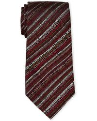 Missoni - Multicolor Logo Silk Tie - Lyst