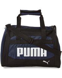PUMA - Navy & White Transformation Cooler - Lyst