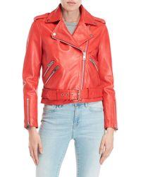 Walter Baker - Allison Leather Jacket - Lyst