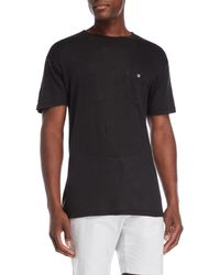 Todd Snyder - Linen Patch Pocket Tee - Lyst