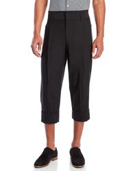 Kit and Ace | Black Centre Stage Cropped Trousers | Lyst